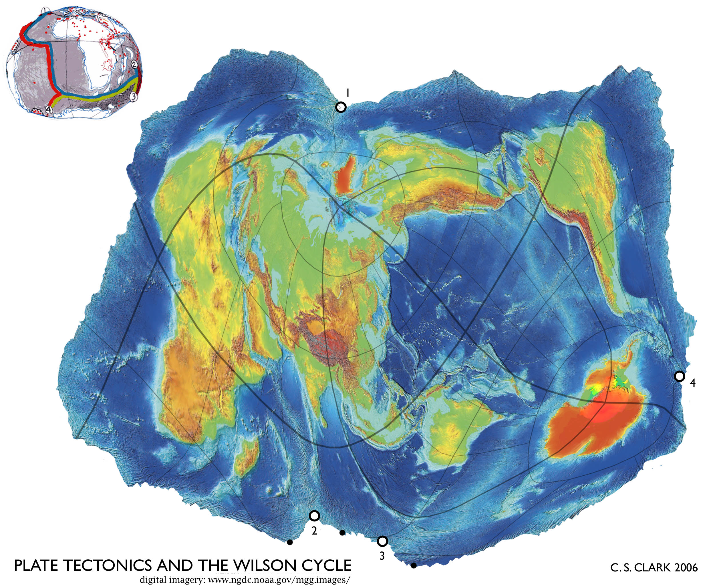Earth Tectonic Maps World Maps With Constantscale Natural - World map to scale