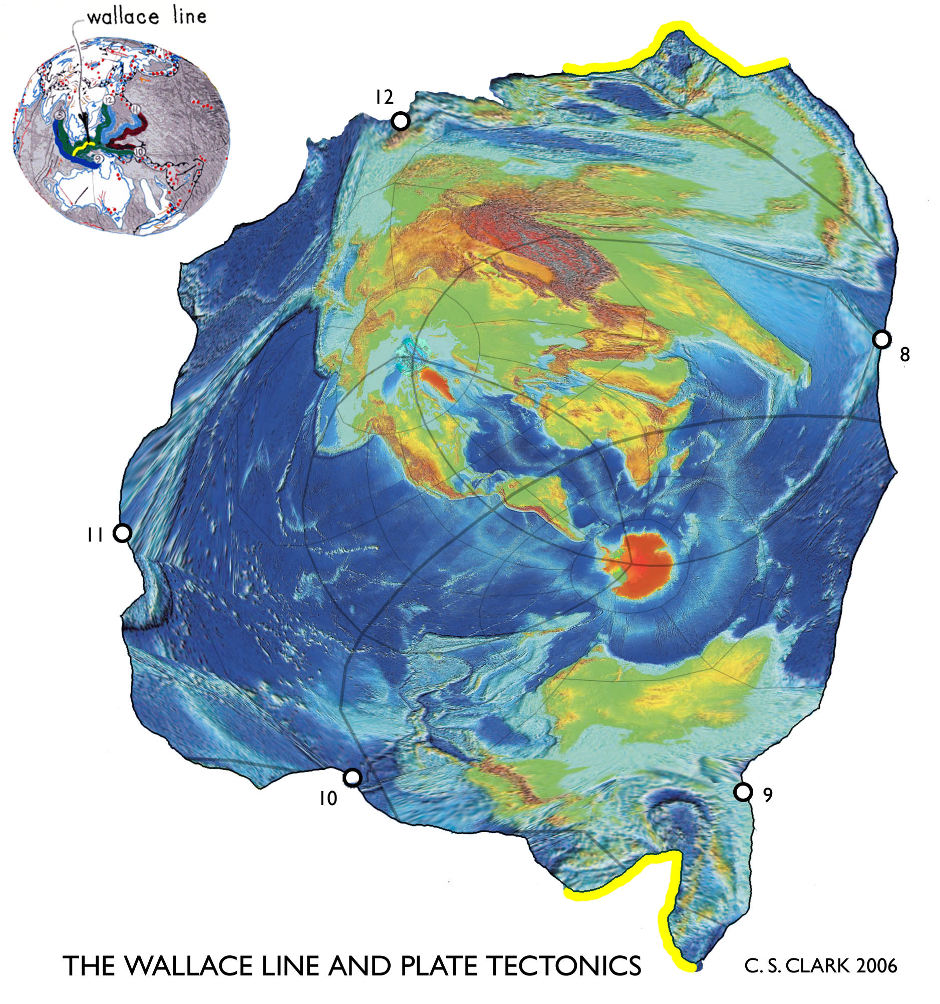 Earth tectonic maps world maps with constant scale natural boundaries gumiabroncs Choice Image